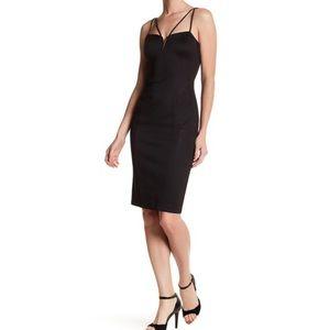 Guess Sweetheart Black Dress w/Metal Detail Size 0